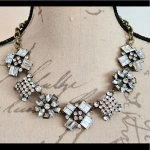 Amazing J.CREW Crystal Crush Necklace